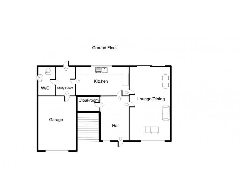 Floorplan for *REDUCED PRICE* 2 Balnageith Gardens, Forres