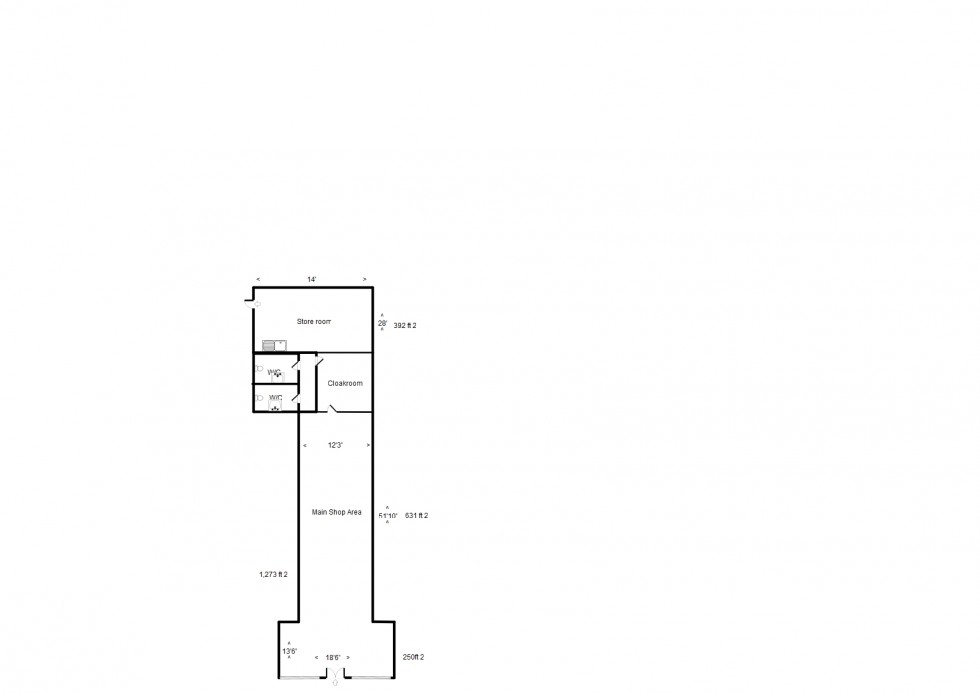 Floorplan for High Street, Forres