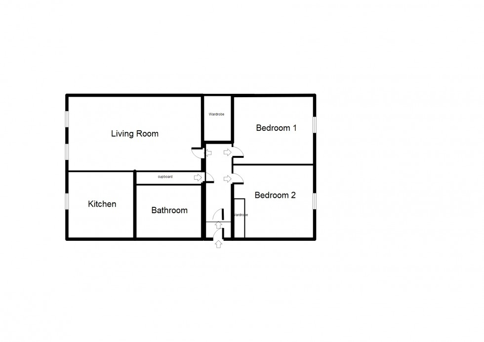 Floorplan for Kingsmills Court, Elgin