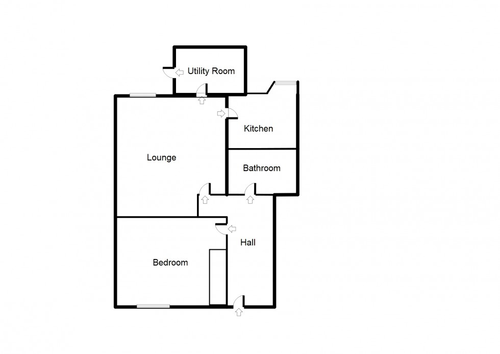 Floorplan for **REDUCED PRICE** 3 Robertson Place, Forres