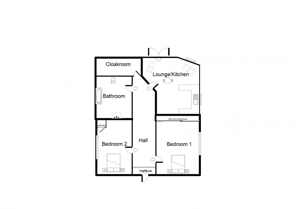 Floorplan for Balnageith Rise, Forres