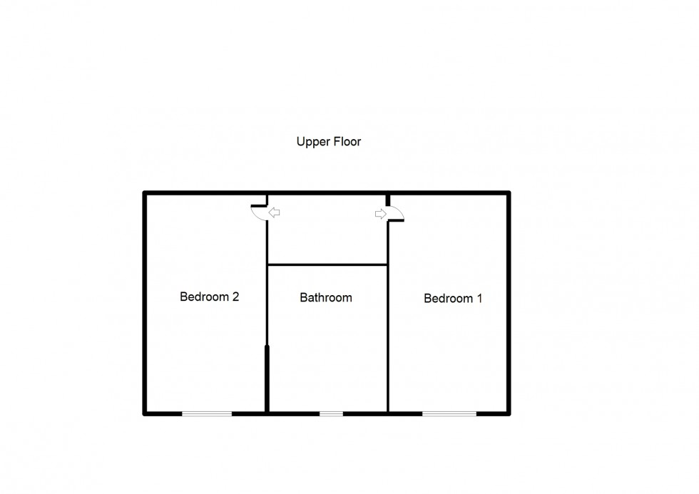 Floorplan for North Road, Forres