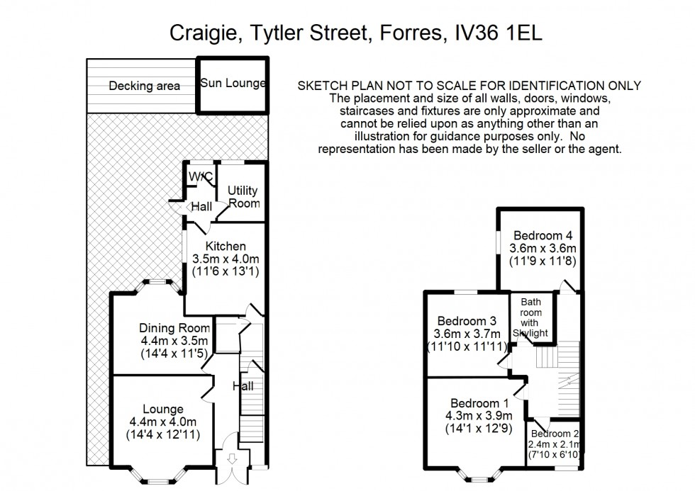 Floorplan for Tytler Street, Forres