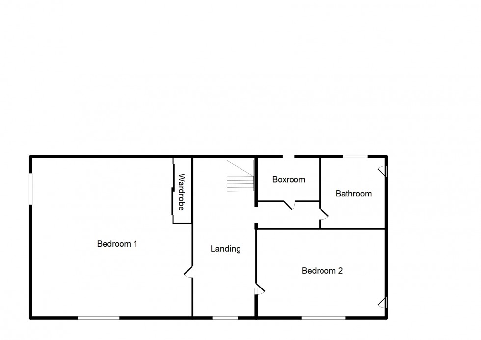 Floorplan for Pluscarden Road, Elgin