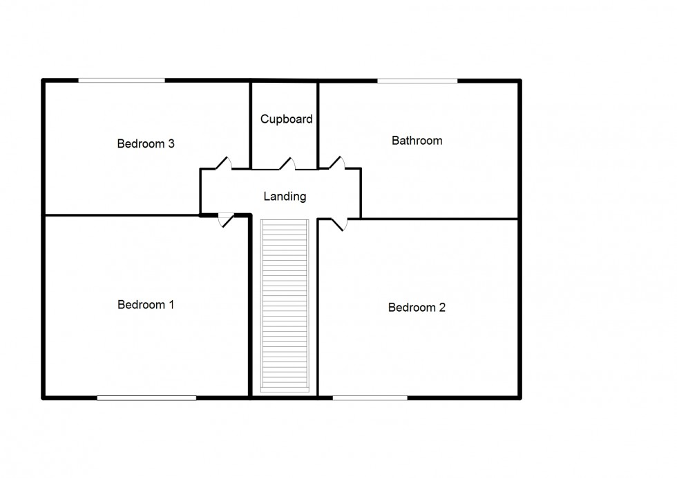 Floorplan for Oakbank Place, Elgin