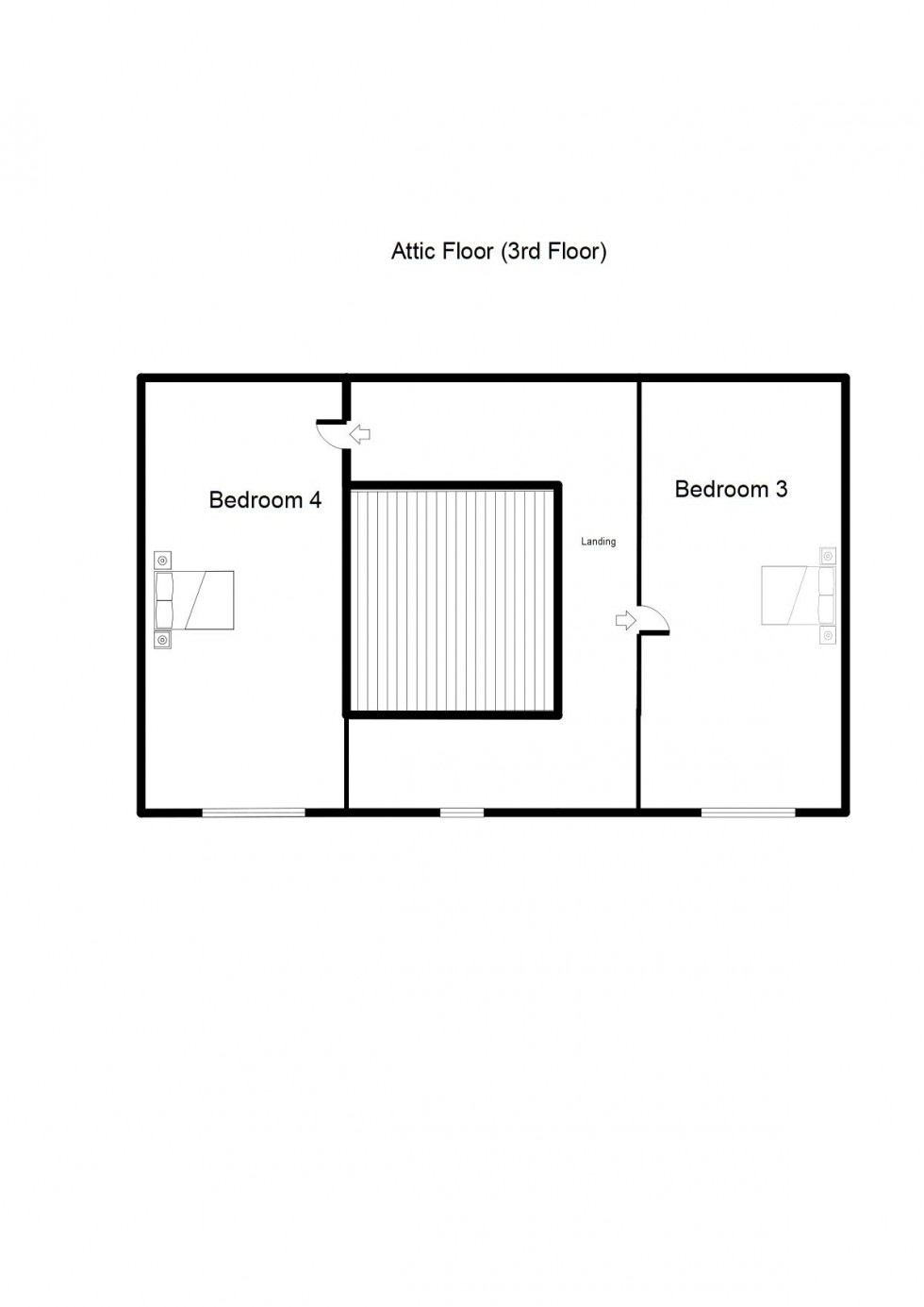 Floorplan for Gordon Street, Forres