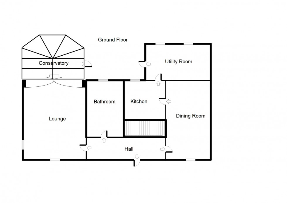Floorplan for Newmill House, Forres