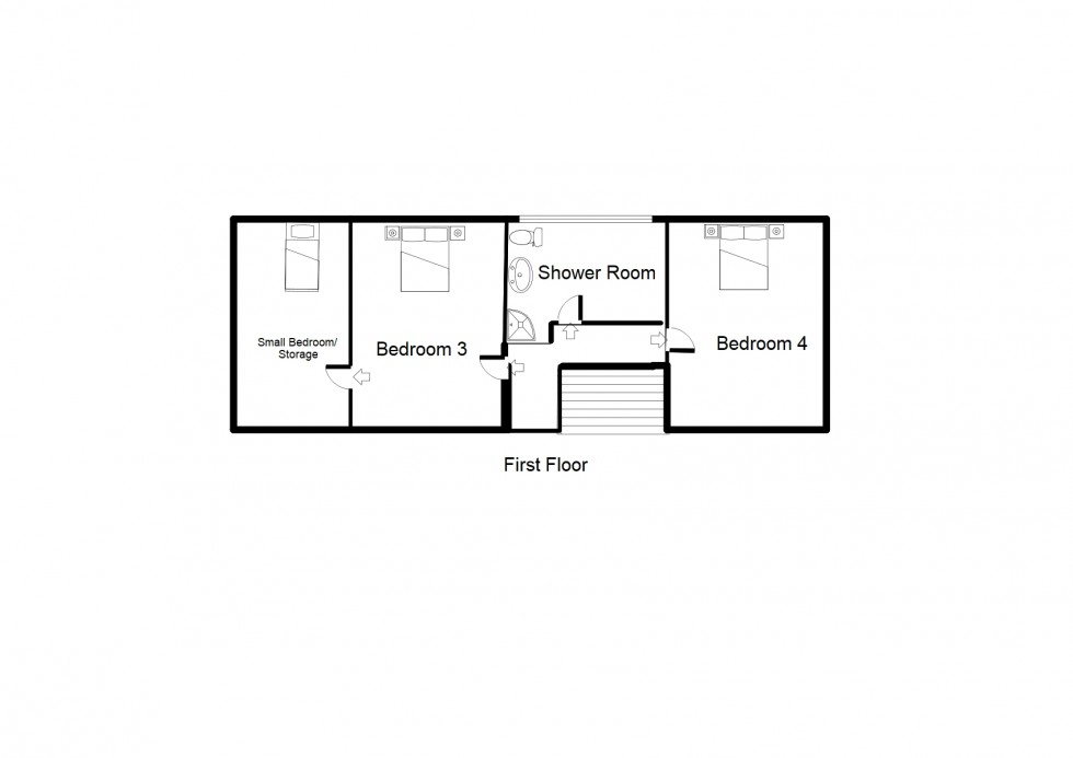 Floorplan for Victoria Road, Forres