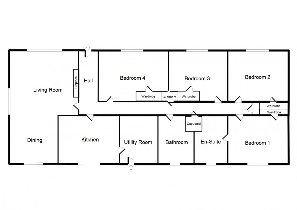 Floorplan for South Darkland, Elgin