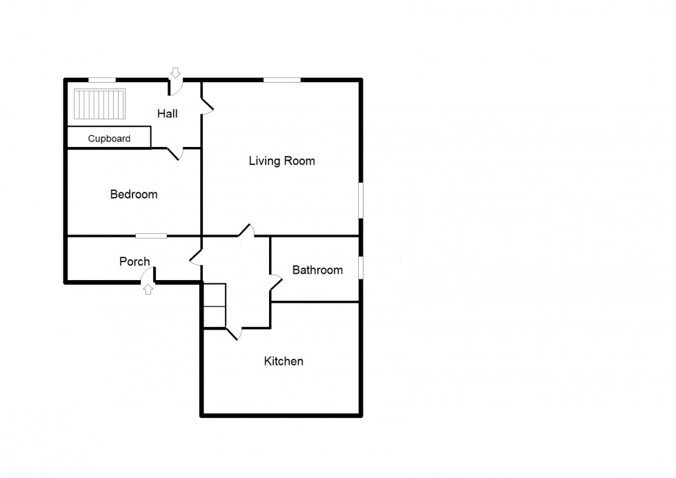 Floorplan for Blantyre Place, Elgin