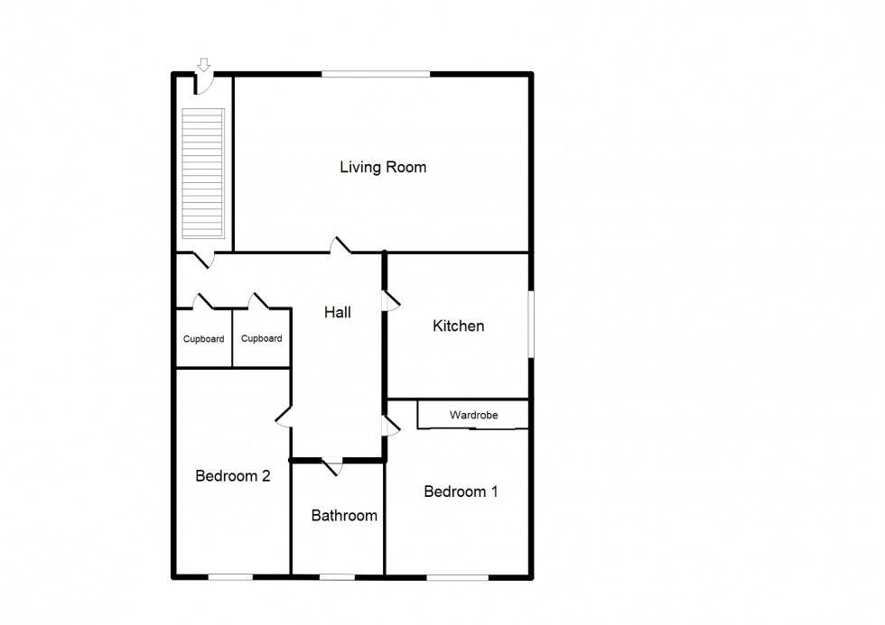 Floorplan for Ashgrove Place, Elgin