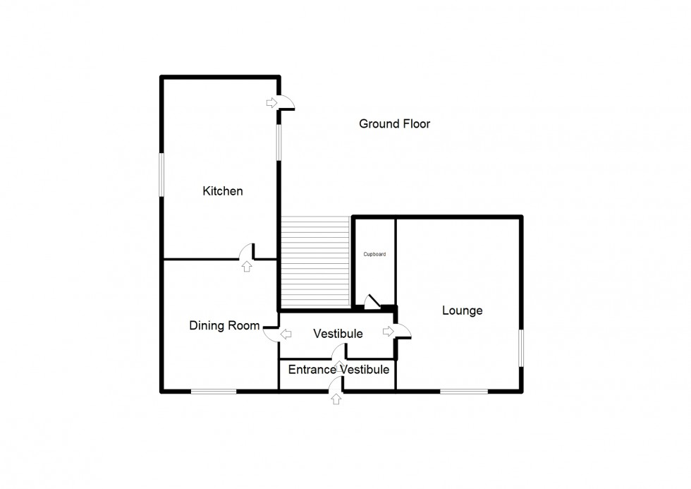 Floorplan for Conicavel, Darnaway, Forres