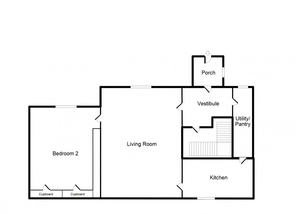 Floorplan for Cassieford Cottages, Findhorn Road, Forres