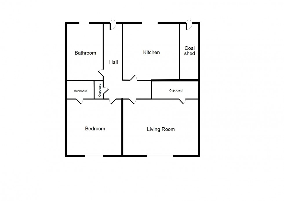Floorplan for Ramflat Road, Forres