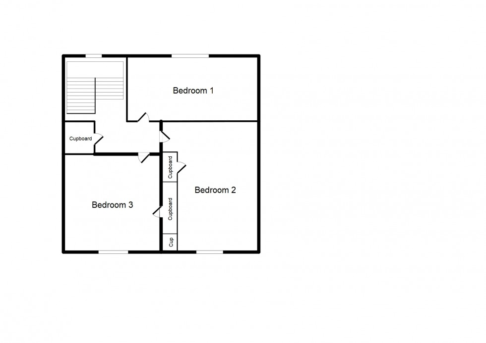 Floorplan for Anderson Crescent, Forres