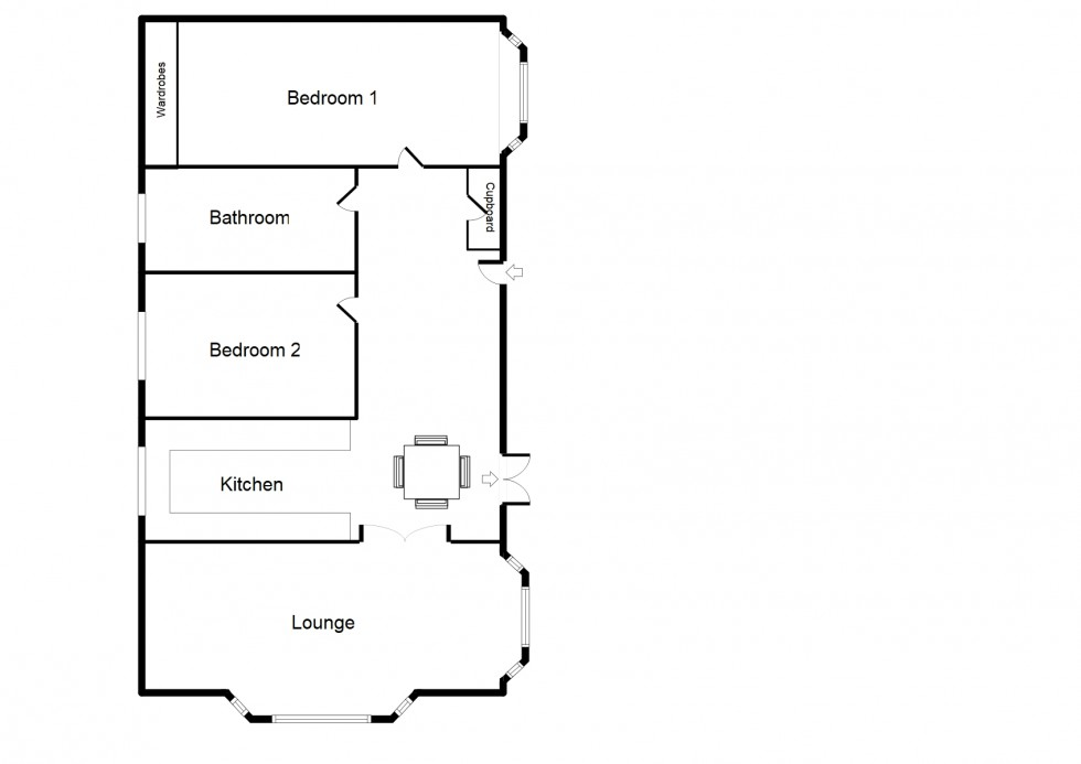 Floorplan for Grosvenor Park, Riverview Country Park, Mundole, Forres