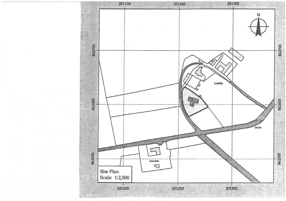 Floorplan for Muir of Lochs, Elgin